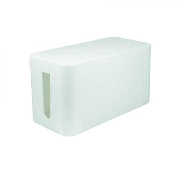 LogiLink KAB0061 Kabelbox, 235x115x120mm, Weiß