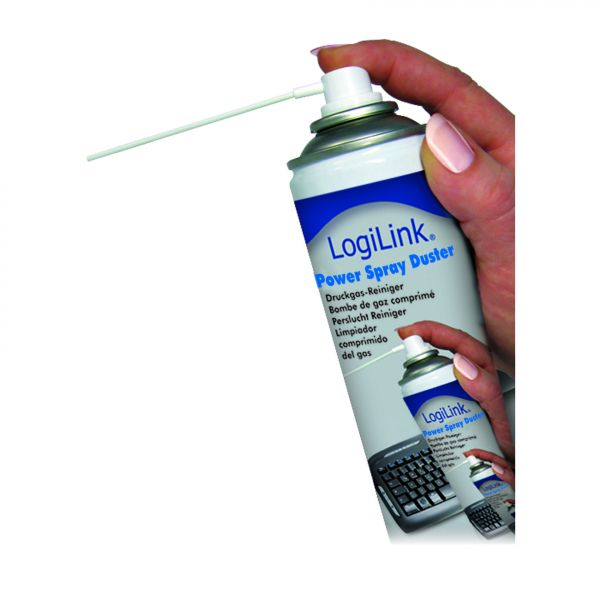 LogiLink Power Air-Duster Druckluftspray LogiLink, 400ml
