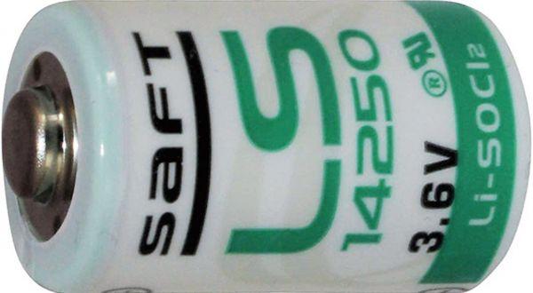 Saft Spezial-Batterie CR1/2 AA 3,6V 1200mAh Bulk 14250 LS14250