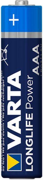 Varta 1 Zelle Longlife Power AAA Micro Alkaline Batterie ehem. High Energy Bulk 4903