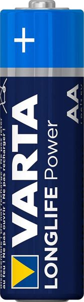 Varta 1 Zelle Longlife Power AA Mignon Alkaline Batterie ehem. High Energy Bulk 4906