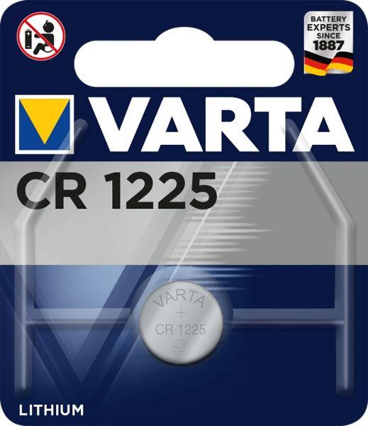 Varta CR1225 Lithium Knopfzelle 3V 1er Blister CR 1225 6225 CR1225
