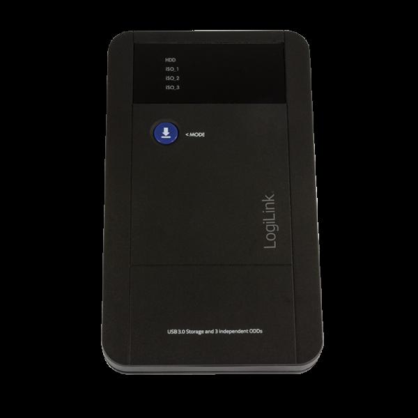 "LogiLink 2,5"" Extern. Encl. USB3.0/SATA, ""iSO Mount"""