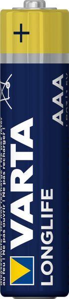 Varta 1 Zelle Longlife AAA Micro Alkaline Batterie Lose Bulk 4103