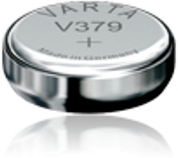 Varta Watch V 379 Uhrenzelle Knopfzelle SR 521 SW V379 Silber-Oxid 14mAh 1,55 V Bulk V 379