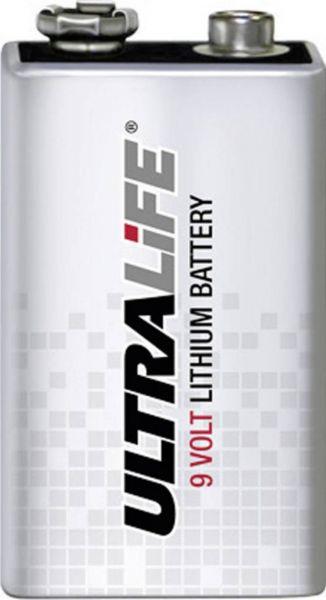 Ultralife Lithium E-Block 9V 1200 mAH lose Bulk U9VL-J-P