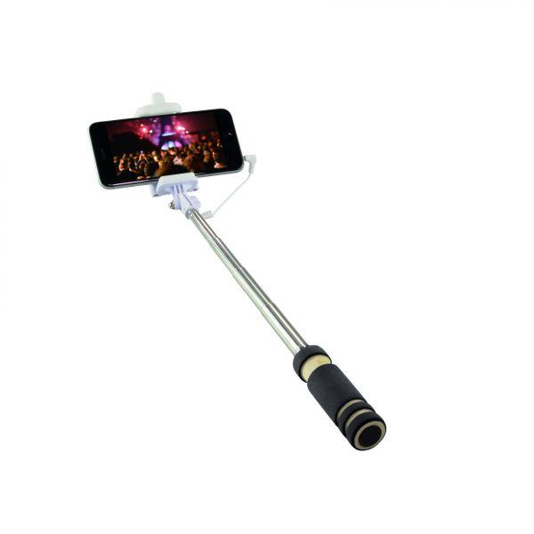 "LogiLink Wireless Monopod ""Selfie Stick"", mini size, black"