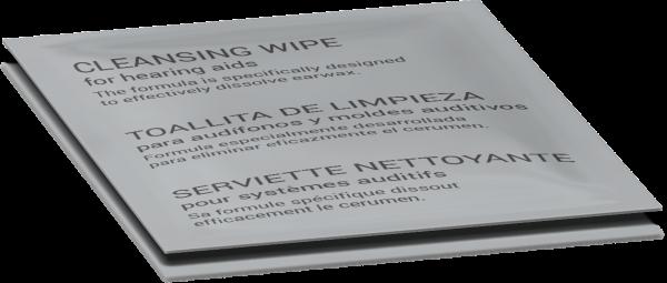audinell Desinfektionstücher Reinigungstücher insbesondere für Hörgeräte cleaning wipe for hearing a