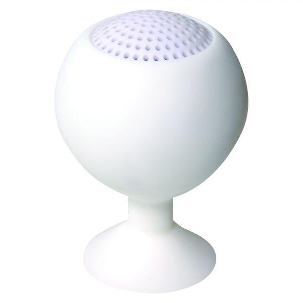 LogiLink Iceball Lautsprecher weiß wiederaufladbar