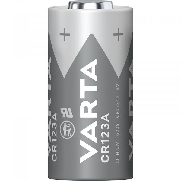 Varta 1 Zelle CR123A 3V Lithium 1430 mAh VCR123A Bulk 6205