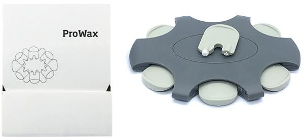 EWANTO 6er Box ProWax Cerumenfilter Wachsschutz Ohrenschmalzfilter wie Oticon mit Wechselwerkzeug fü