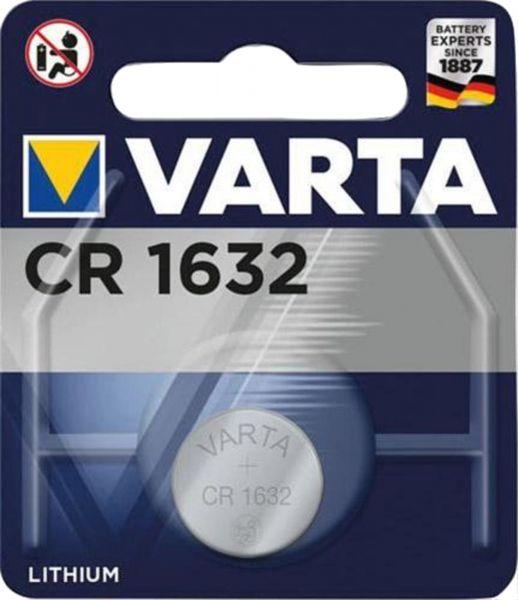 Varta CR1632 1er Blister 3V Batterie Lithium Knopfzelle 6632