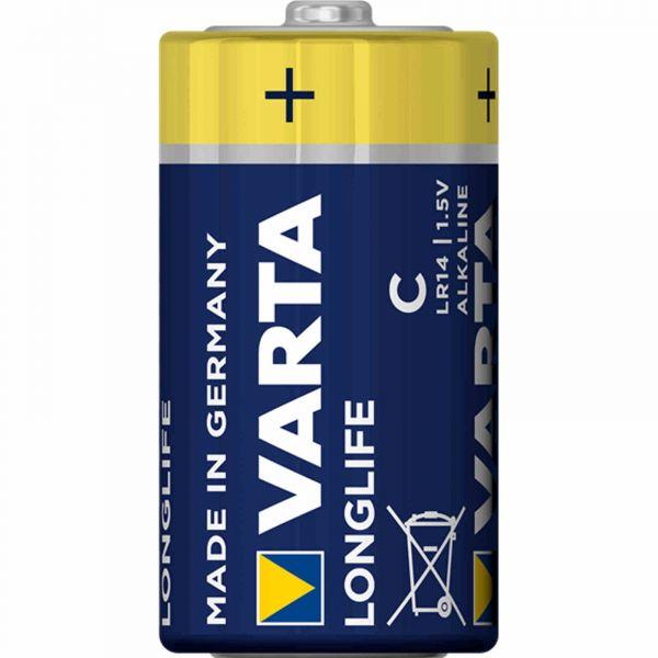 Varta Longlife C LR14 Baby 1,5 V Alkaline Batterie MN1400 bulk 4114