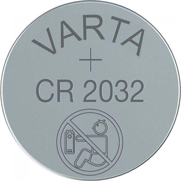Varta CR2032 3V Batterie Lithium Knopfzelle 2032 lose Bulk VCR2032B