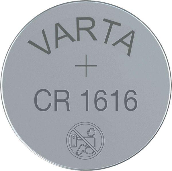 Varta CR1616 3V Batterie Lithium Knopfzelle Bulk VCR1616B