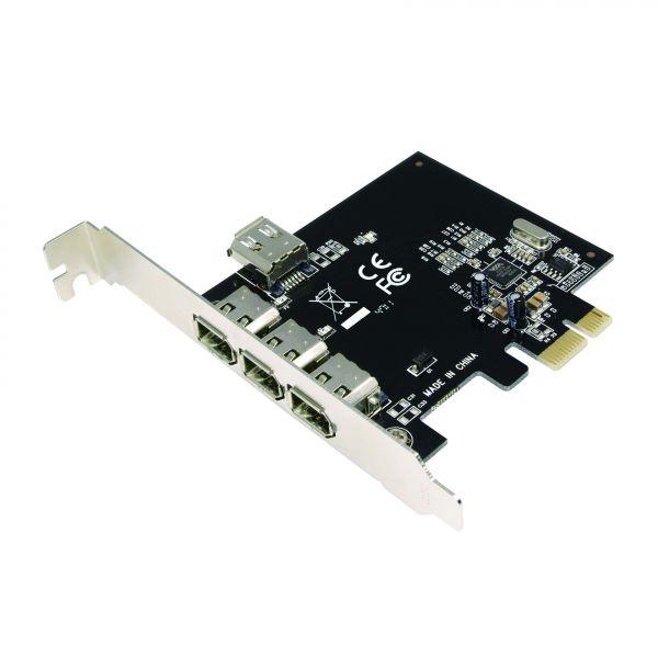 LogiLink PCI-Express Card, IEEE1394, 3+1 port