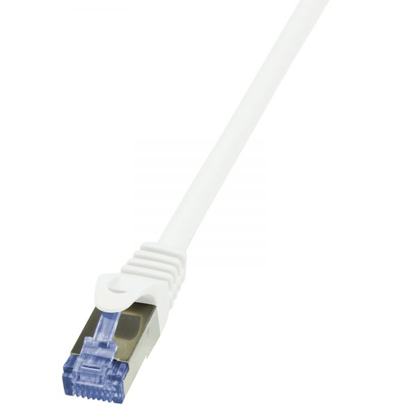 LogiLink Patch Cable Cat.6A S/FTP white 50m, PrimeLine