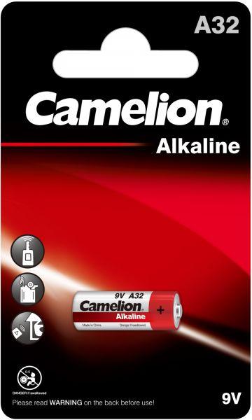 Camelion Alkaline Batterie A32 LR32A 9V 1er Blister A32-BP1