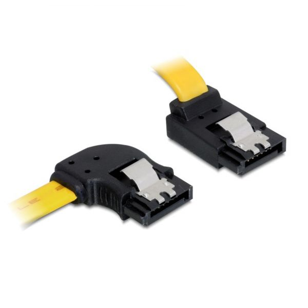 Delock Kabel SATA 6 Gb/s links/oben Metall 50 82837