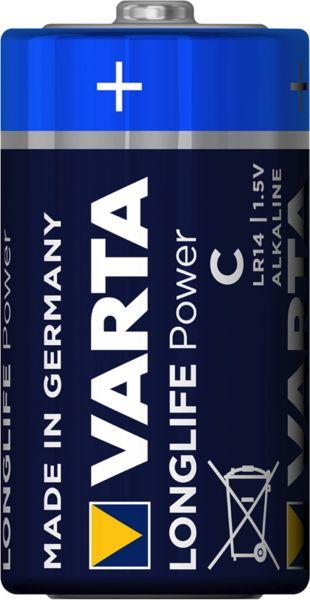 Varta Longlife Power C LR14 Baby 1,5 V Alkaline Batterie MN1400 Bulk 4914
