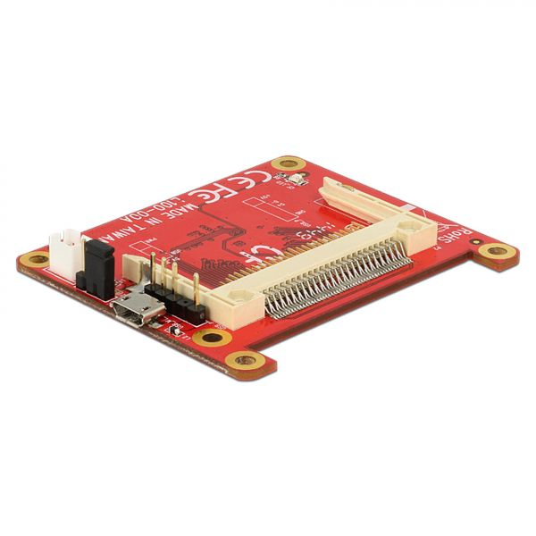 Delock Konverter Raspberry Pi USB Micro-B Buchse / USB Pin Header > Compact Flash 62625