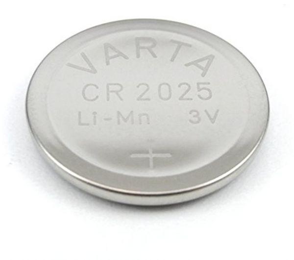 Varta CR2025 3V Batterie Lithium Knopfzelle Bulk VCR2025B